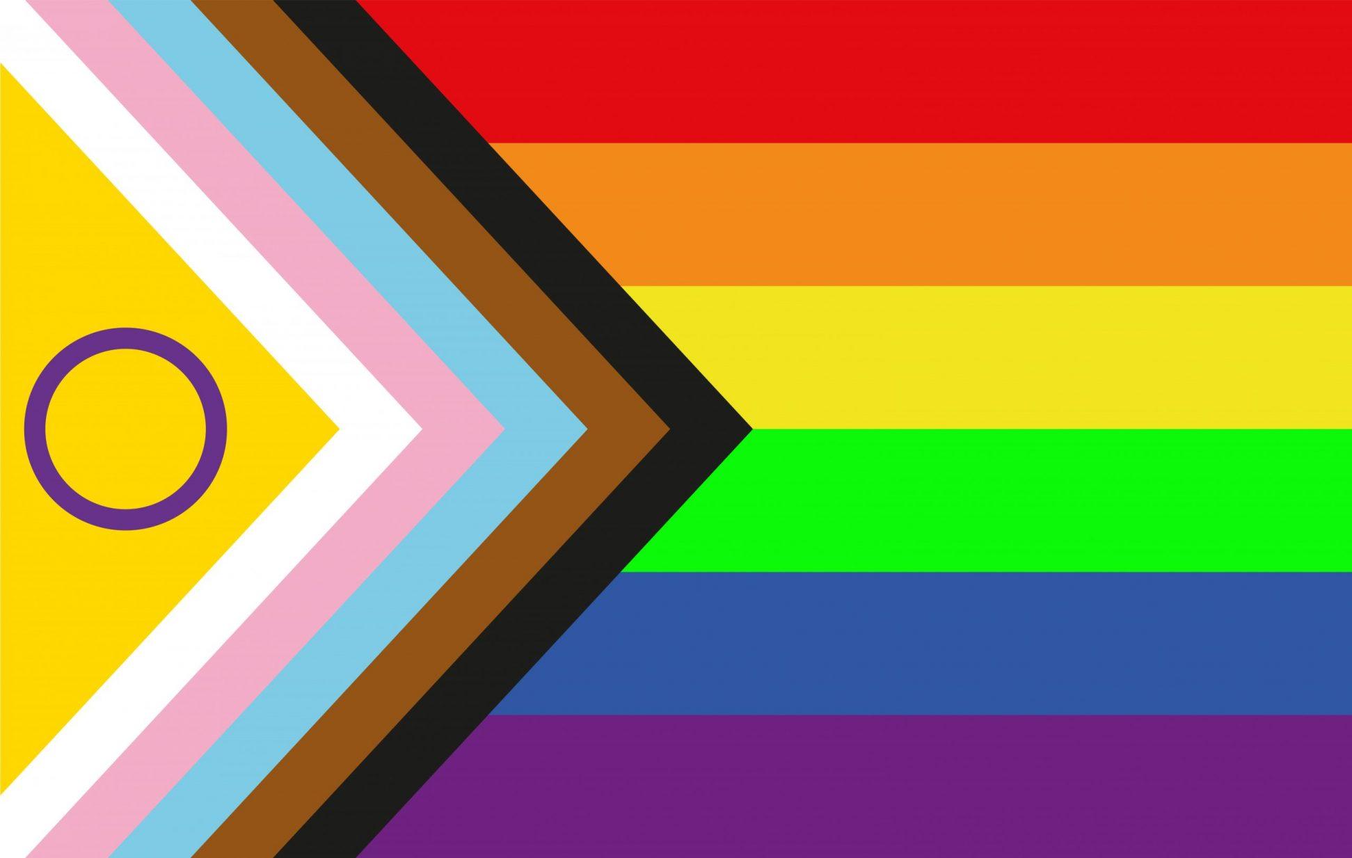Bild der neuen Regenbogen Fahne